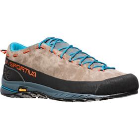 La Sportiva TX2 Leather Shoes Herre falcon brown/tangerine